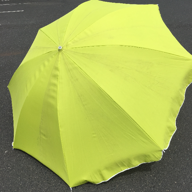UMB0127 UMBRELLA, Beach - Lime Green $18.75