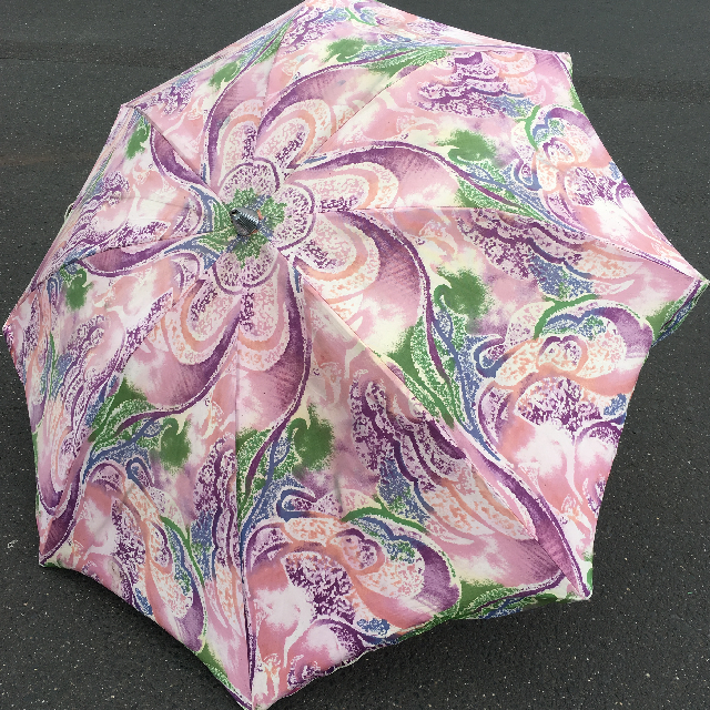 UMB0131 UMBRELLA, Beach - 1980s Purple Swirl $22.50