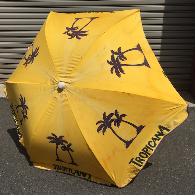 UMB0103, UMBRELLA, Beach - Yellow Tropicana $18.75