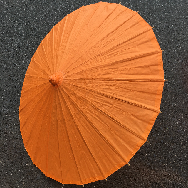 UMB0403 UMBRELLA, Asian - Orange Paper $7.50