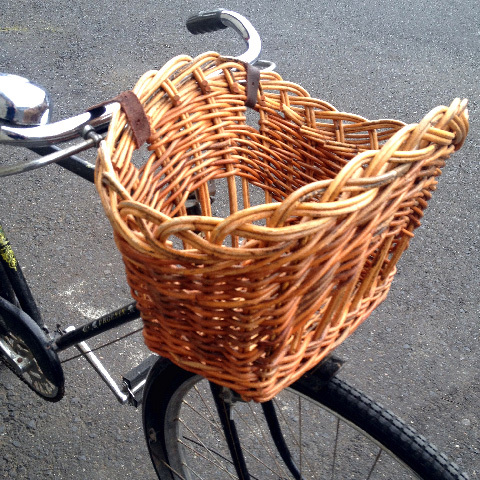 BIC0003 BICYCLE, Basket New Wicker $15