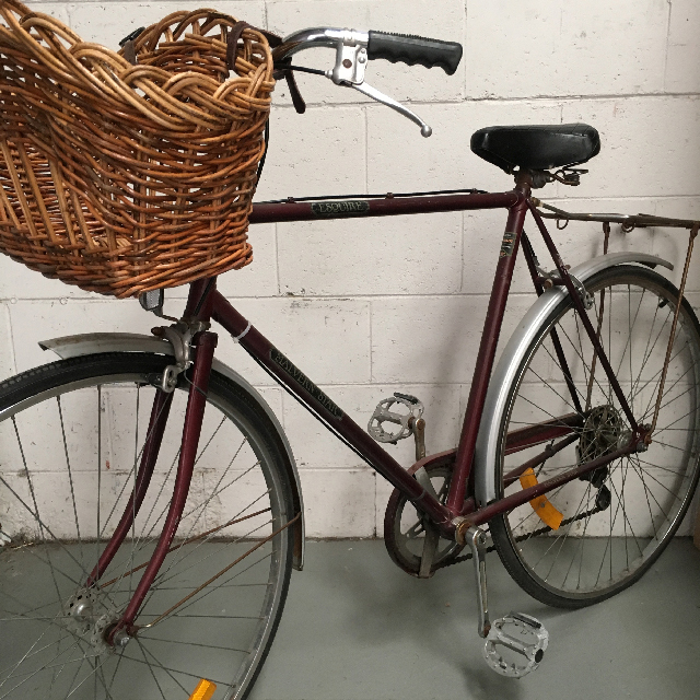 BIC0009 BICYCLE, Red Vintage Malvern Star Esquire $50