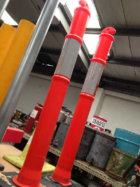 BAR0560 BARRIER POLE, Safety - Fluro Orange $11.25