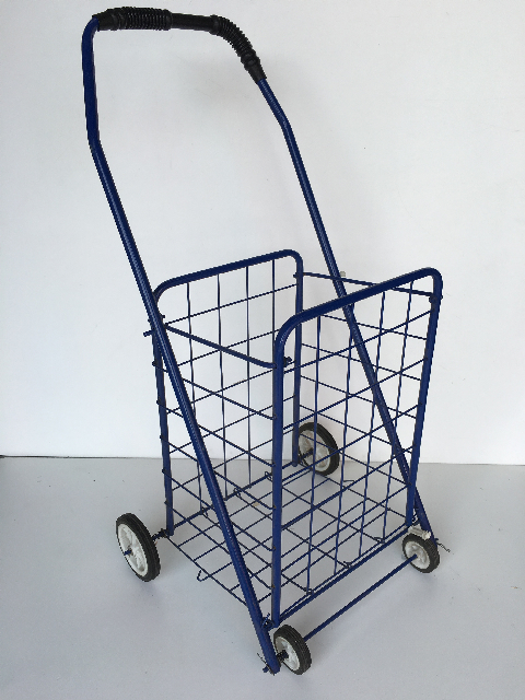 TRO0106 TROLLEY, Shopping Trolley - Blue Wire $15