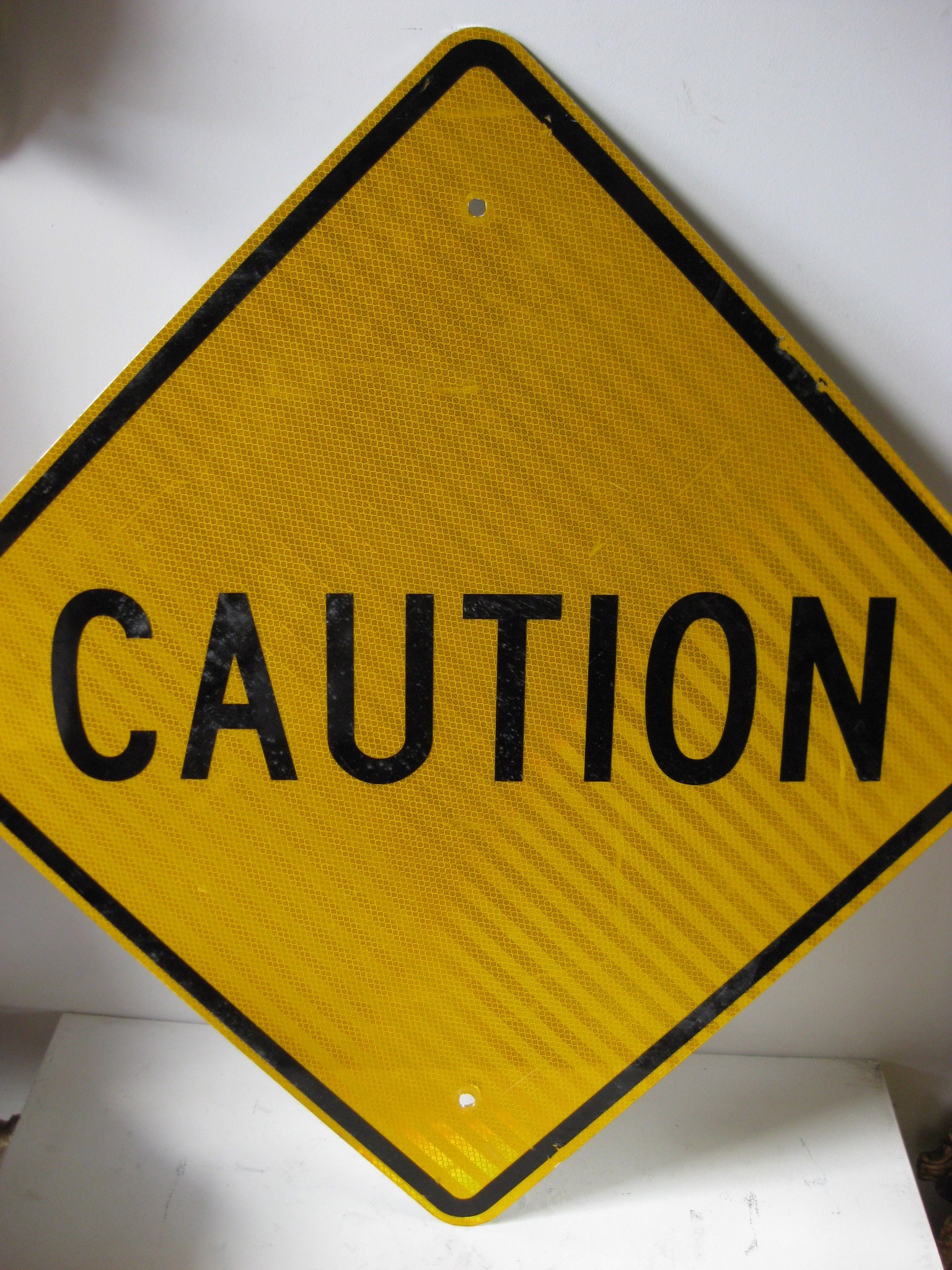 SIG0356 SIGN, Road Sign - Caution Reflector $22.50