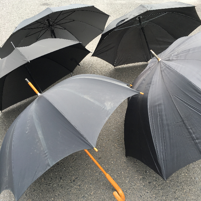 UMB0508 UMBRELLA, Mens Black $10