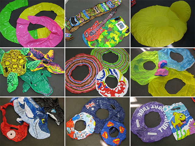 INFLATABLES - Assorted, (INF0001) Large $7.50 & (INF0002) Small $5