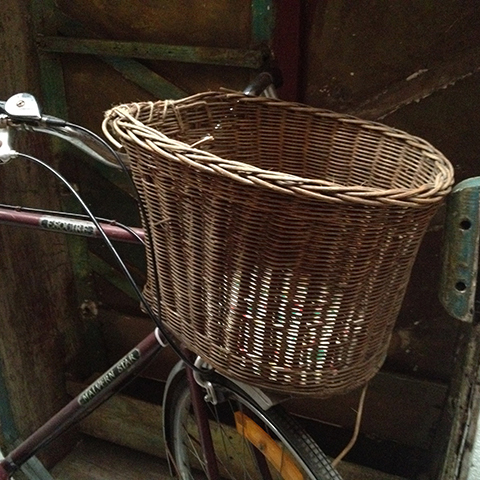 BIC0004 BICYCLE, Basket Vintage Wicker $15