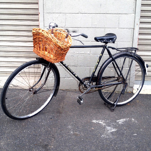 BIC0005 BICYCLE, Black Phoenix with Optional Basket