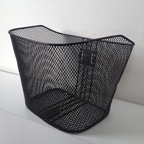 BIC0001 BICYCLE, Basket Black Wire Style 1 $10