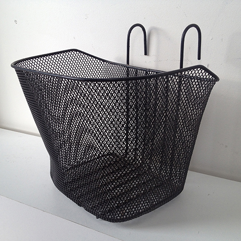 BIC0002 BICYCLE, Basket Black Wire Style 2 $10