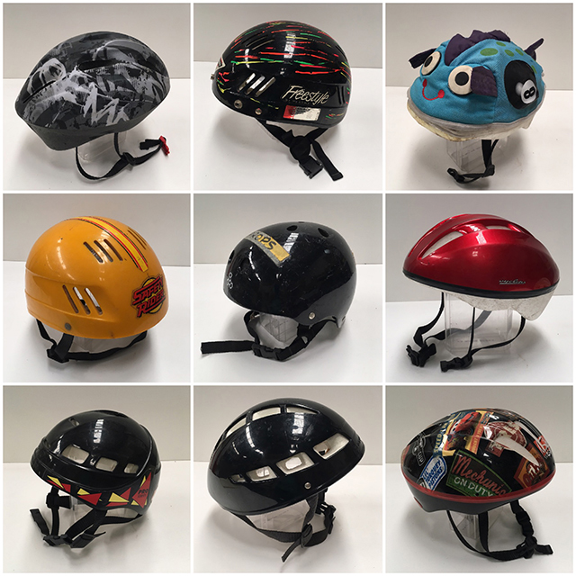 HEL0004 HELMET, Kids Bicycle - Assorted $11.25