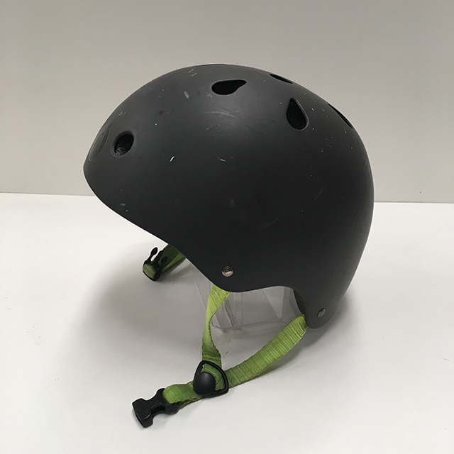 HEL0005 HELMET, Kids Bicycle - Skater Retro Black $15