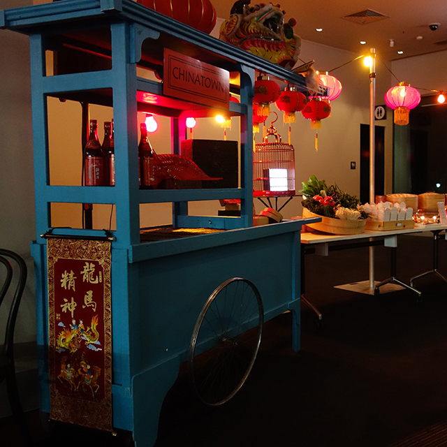 Event Styling - Asian Food Station