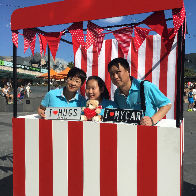 Event Styling - Kissing Booth