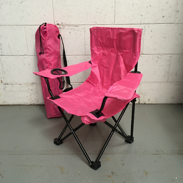 CHA0103 CHAIR, Beach - Pink Kids Chair $6.25