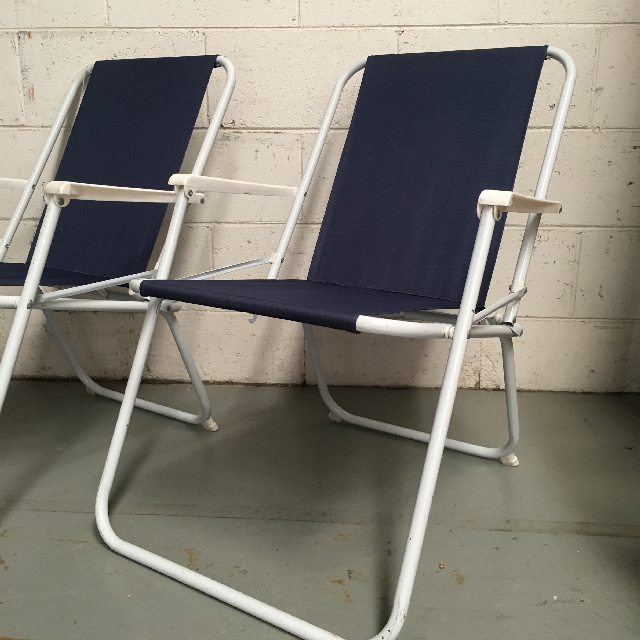 CHA0110 CHAIR, Beach - Navy $12.50