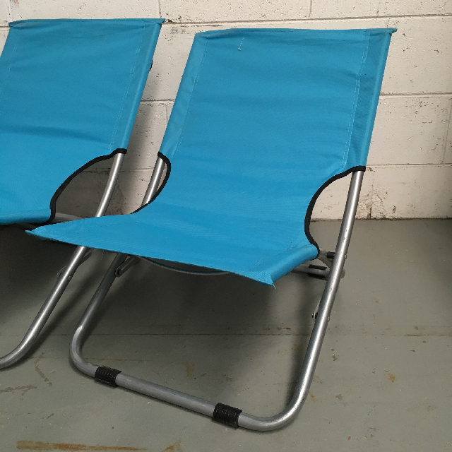 CHA0111 CHAIR, Beach - Turquoise $12.50