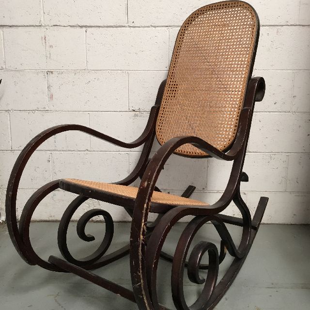 CHA0801 CHAIR, Rocking Chair - Bentwood $50