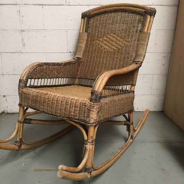 CHA0802 CHAIR, Rocking Chair - Cane $45