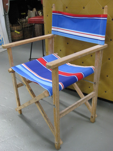 CHA0550 CHAIR, Steamer Chair - Red, White, Blue $18.75