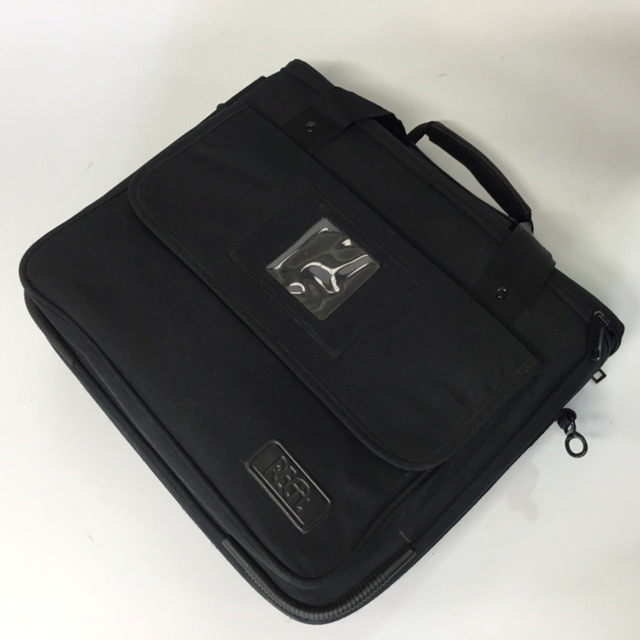 BAG0095 BAG, Laptop Case - Black Regal $10