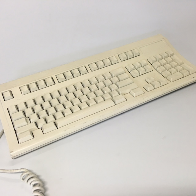 COM0320 COMPUTER KEYBOARD, Off White - Blank Keys $15