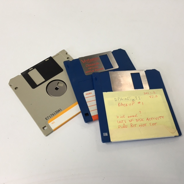 DIS0017 DISK, Floppy - Box Lot $18.75 or Singles $1.25