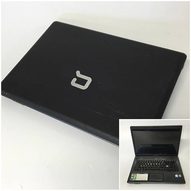 LAP0006 LAPTOP, Black Compaq $20