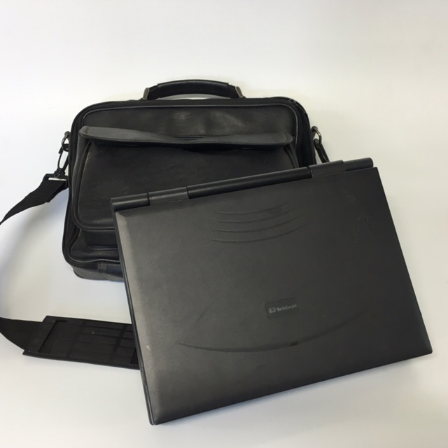 LAP0008 LAPTOP, Black Twinhead - Package w Bag $20 (LAP0009 Computer Only $10)
