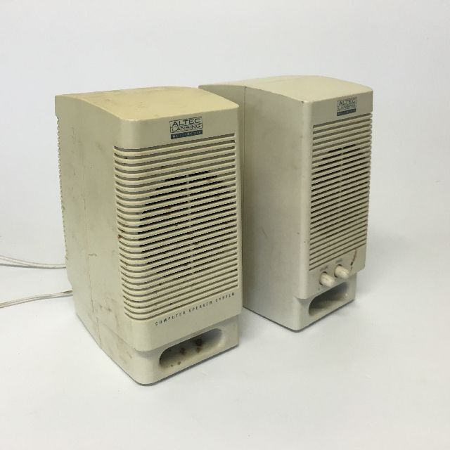 SPE0013 SPEAKER, Cream Altec Pair (Computer) $10