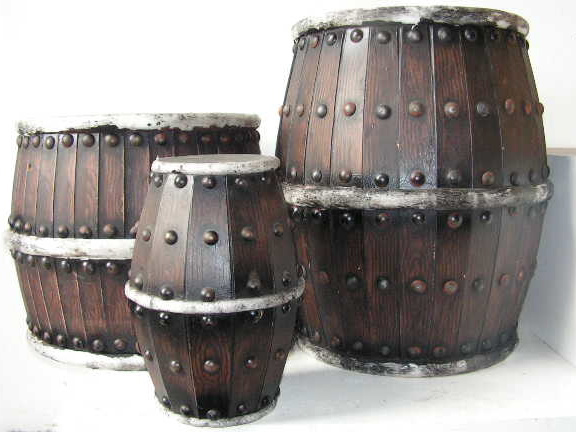 BAR0007 BARREL, Set of 3 - Small, Medium & Large (Theatrical) $50