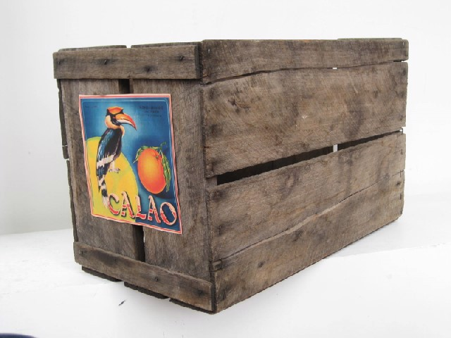 CRA0002 CRATE, with Cuban Signage $13.75
