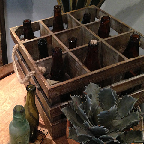 CRA0005 CRATE, Vintage - Bottle Holder $18.75